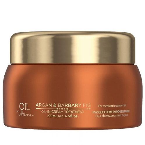 Schwarzkopf Oil Ultime Argan & Barbary Fig Oil-In-Cream Treatment