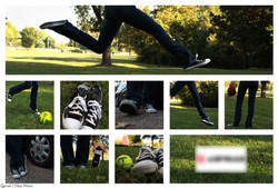 Shoe Mock Ad - Logo Blurred