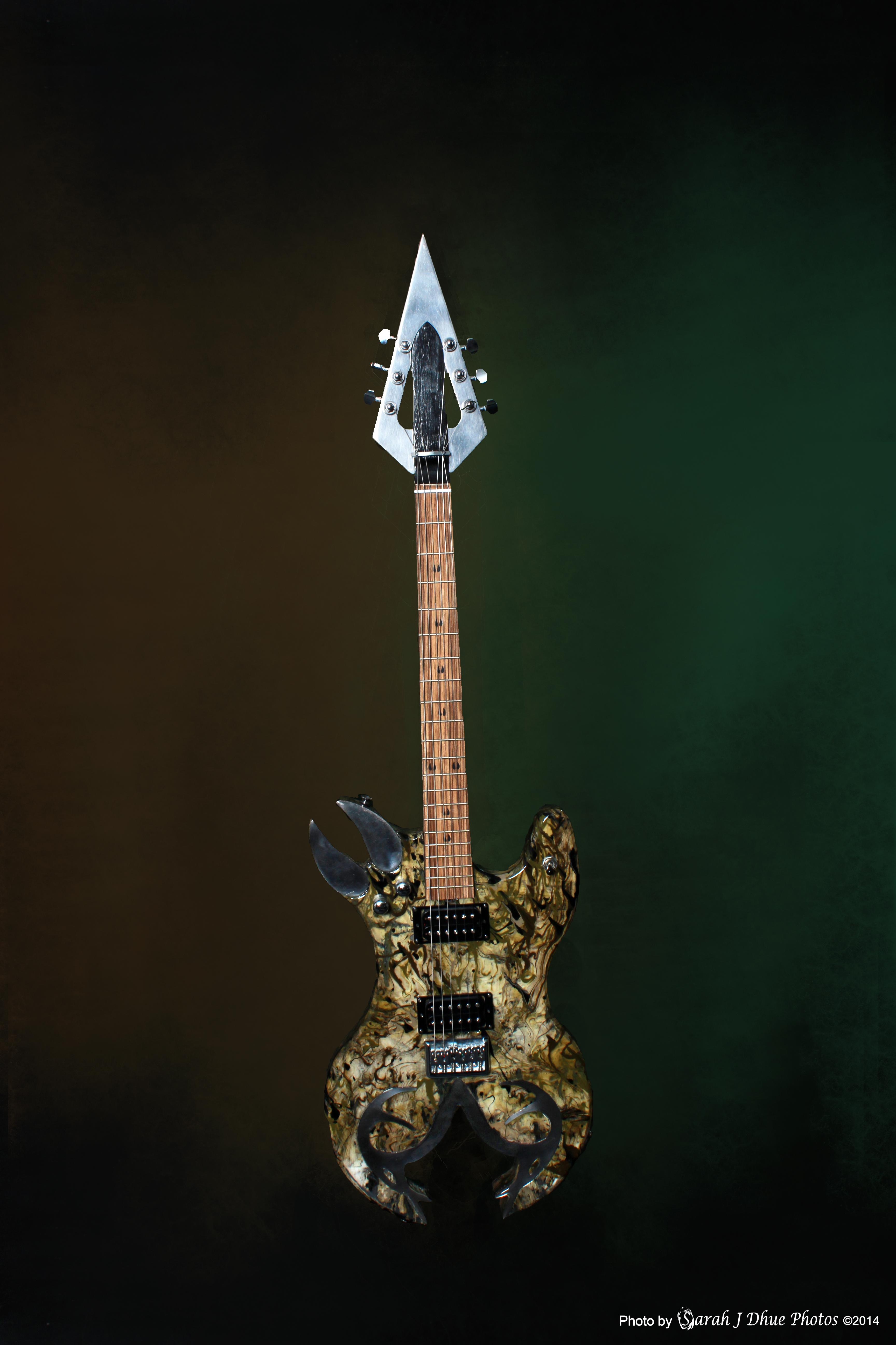 Deer Hunter guitar