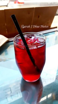 Crimson King Iced Tea