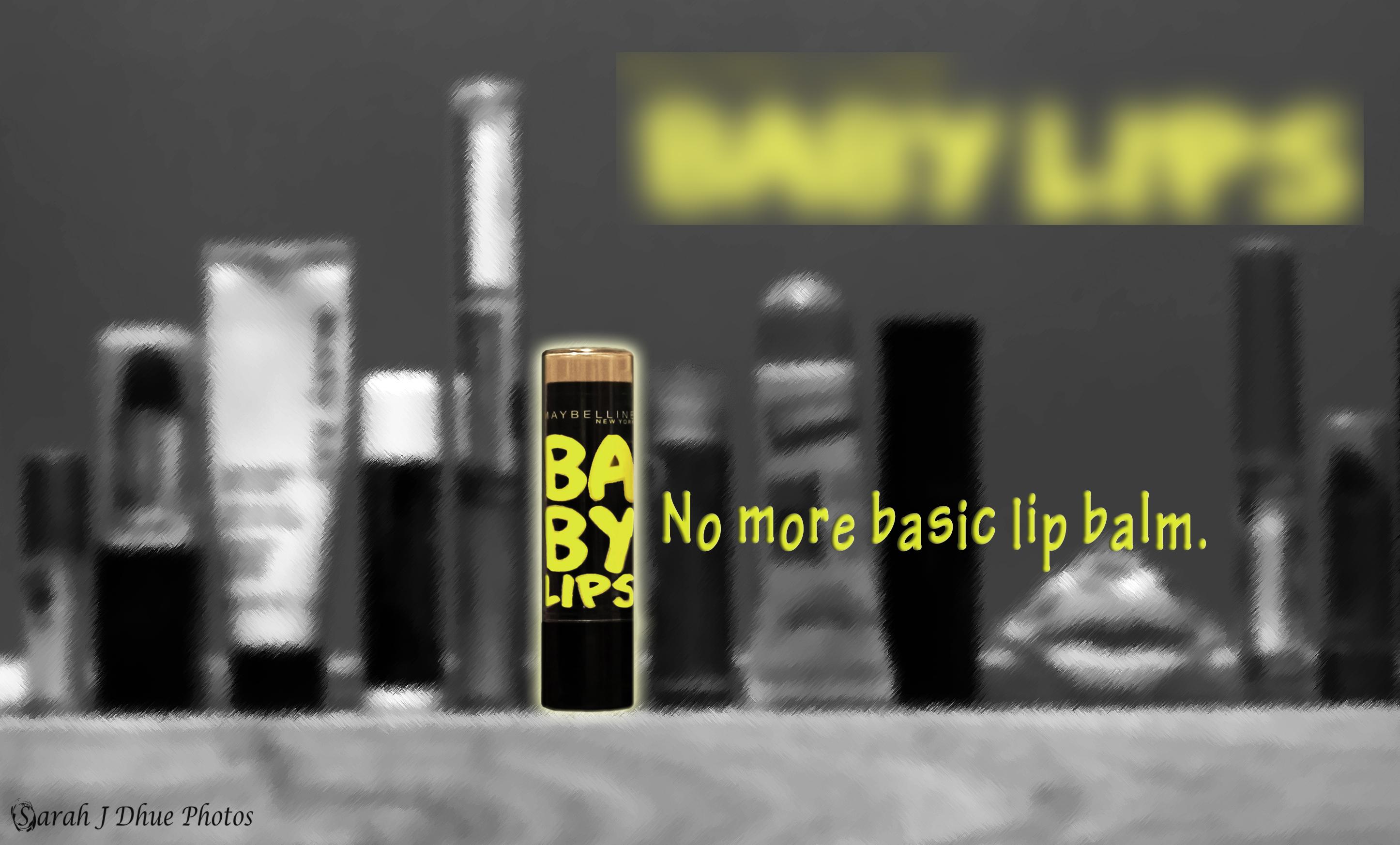 Lip Balm Mock Ad - Logo Blurred