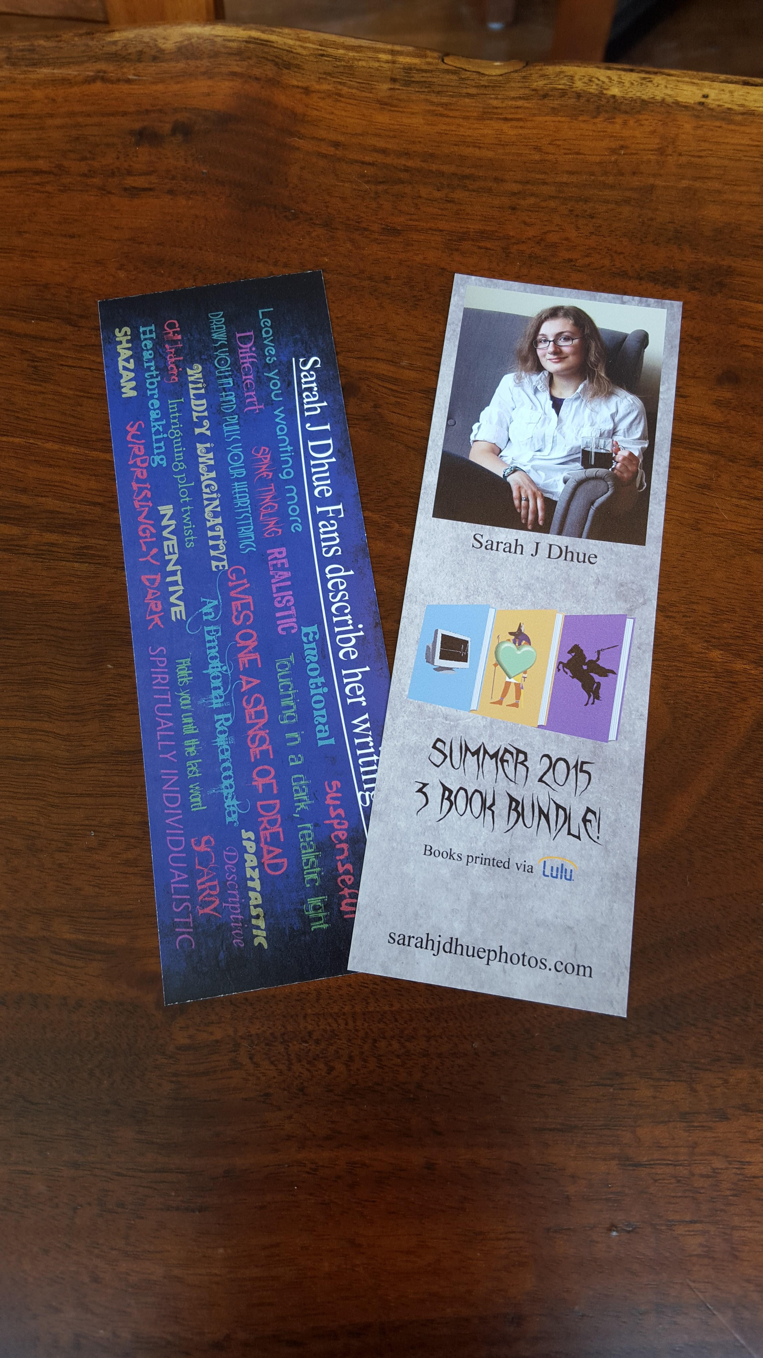 2015 Book Bundle Bookmarks