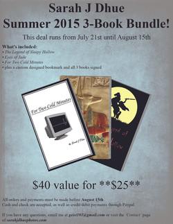 3-Book Bundle Summer 2015 Flyer