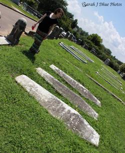 Heather in Elmwood Cemetery