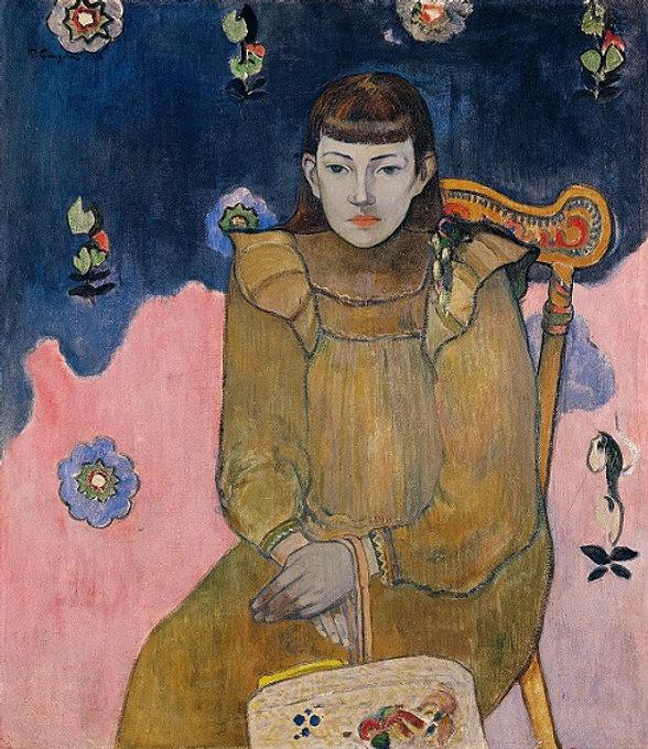 5-Paul-Gauguin.-Portræt-af-en-ung-pige.-