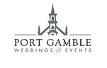 Port Gamble Weddings logo