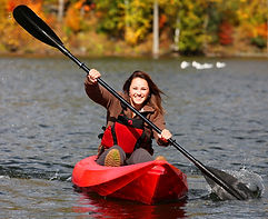 Kingston Lady Kayaking