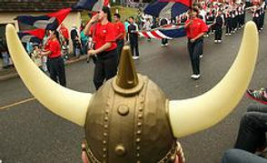 Viking Parade in Poulsbo