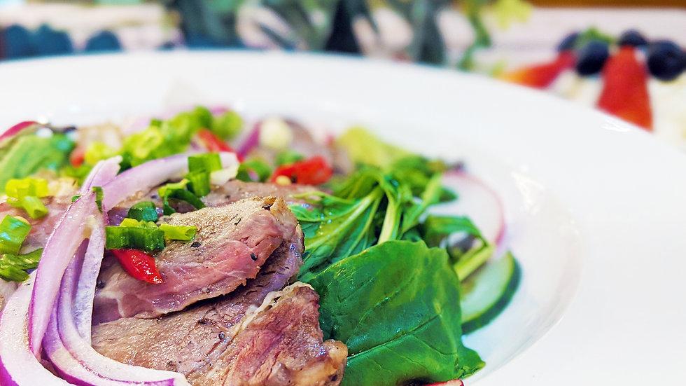 香辣泰式牛肉沙律 - Spicy Thai Beef Salad
