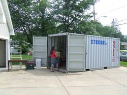 20' On-Site Ground Level Storage
