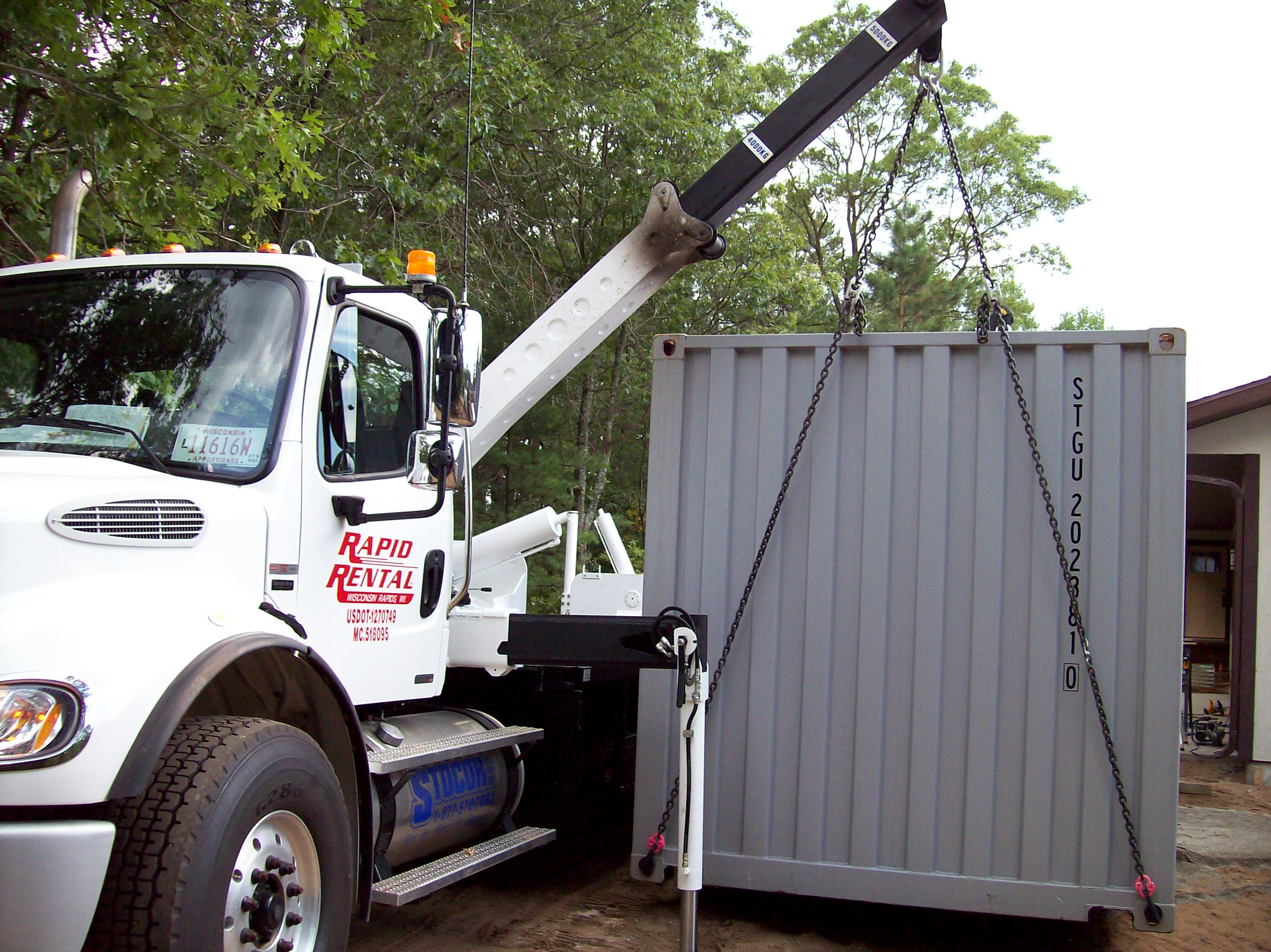 Levelly Load & Unload Containers