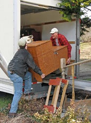 Avod ramps and steps, rent a portable storae container for moving in wi