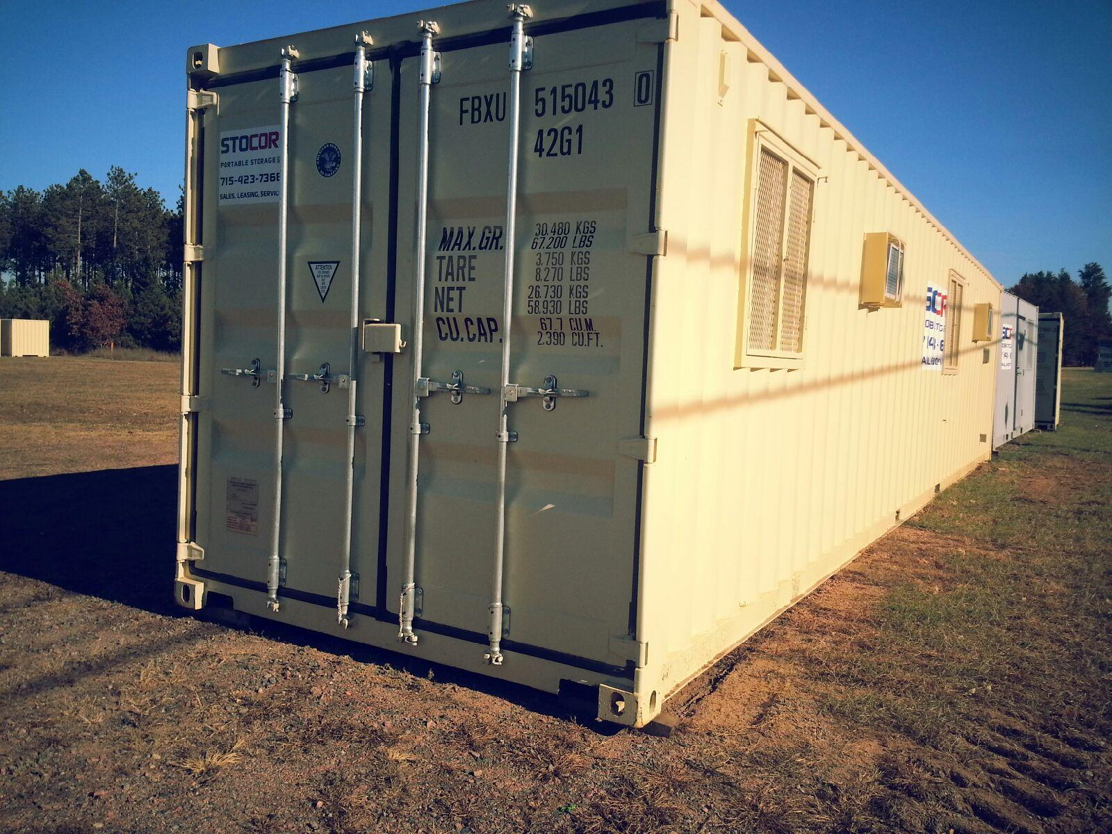 40' Office Container Shipping