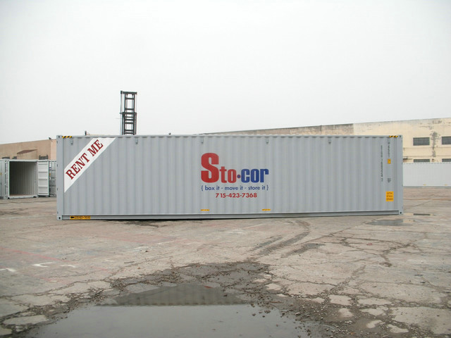 Stocor 40' Container Shipping