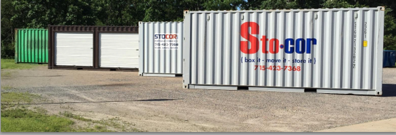 Storage Containers for Rental or Purchase in Wisconsin Zip Codes