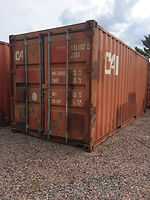 20' Used wind an water tight containers for sale in Wisconsin
