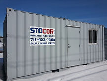 Rent or purchase a 20' office container