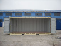20' Open Side containers give you full access to all sides of the shipping container both end doors open