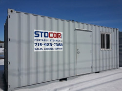 20' Office Mobile Container