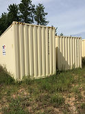 Our 20' high cube shipping containers provide an extra tall shipping container height over 1 foot