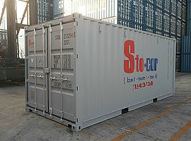 20' Storag Container New 1 Trip Purchase