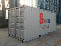 20' Standard Storage containers are great for residential moving customers and smaller commercial locations on jobsites