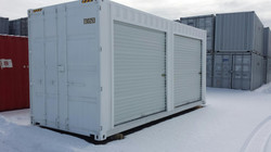 20' Shipping Container w/ Roll Up