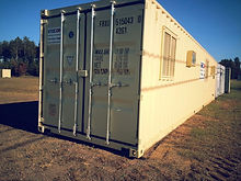 breakroom open concept job trailer office container