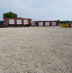 40' Roll Up Door Containers delivered
