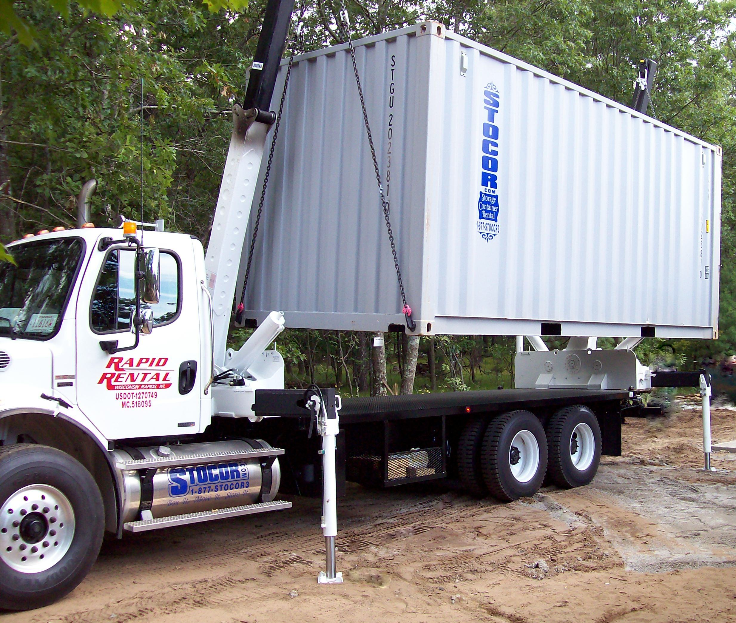 20' Container with Swing Thru