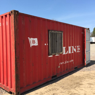 20' Container Modification with Window