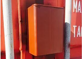 Lockbox container modification for additonal security