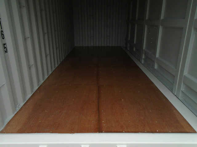 Interior of Shipping Container