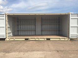 20' Open Side with Shelving