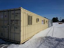 Stocor modifys portable storage units for job trailers in Minnesota