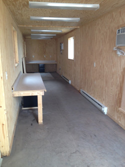 40' Job Trailer Office Container