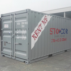 20' Double Door container used for on-site storage and moving and storage in Wisconsin