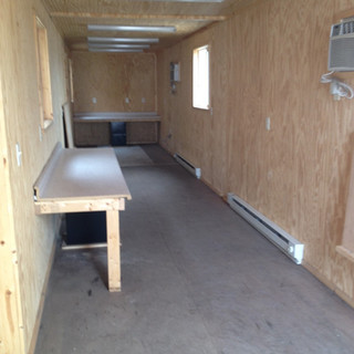 40' Office Buildout Container