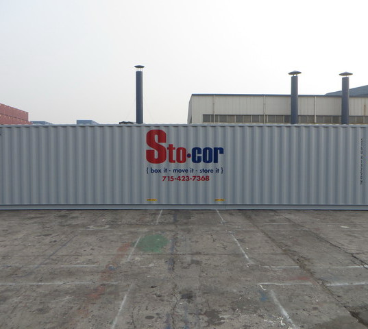 40' Storage Containers available for rental or purchase in Wisconsin