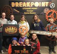 Escape Room Group at Breakpoint Stevens Point, WI