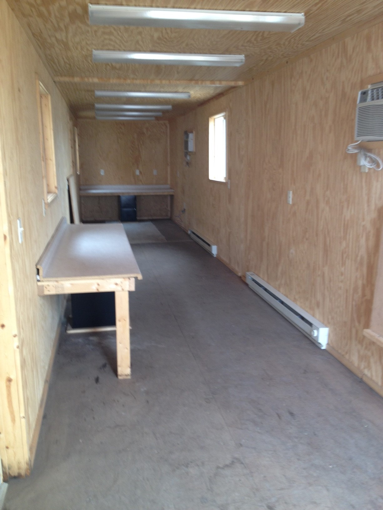 40' Job Trailer - Office Container