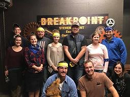Breakpoint Stevens Point Escape Room Game Group Escape Photo