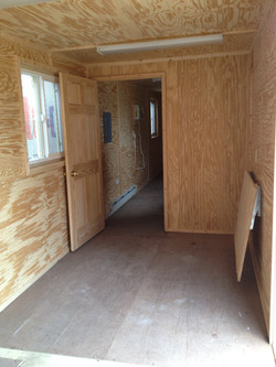 40' Office Job Trailer Container