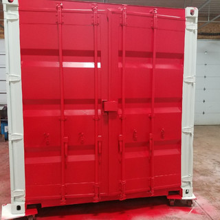 20' Custom Paint Shipping Container