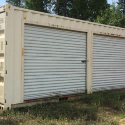 20' Roll Up Door Container