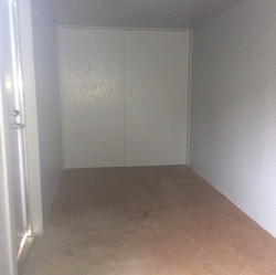 20' Interior Paneling office container modifications