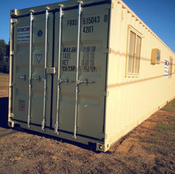 40' Office Container Modification Shipping Containers
