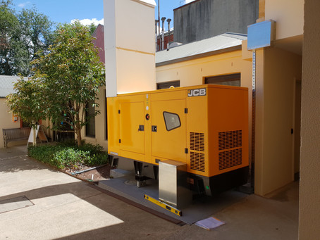 JCB Generator powers iconic Melbourne school boarding house