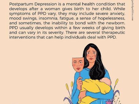 P is for Postpartum Depression