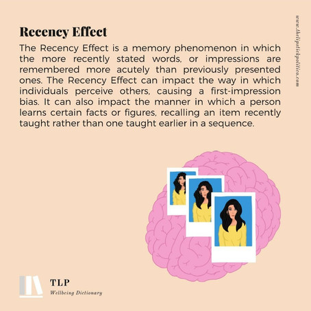 R for the Recency Effect